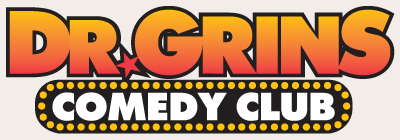Dr. Grins Comedy Club Logo
